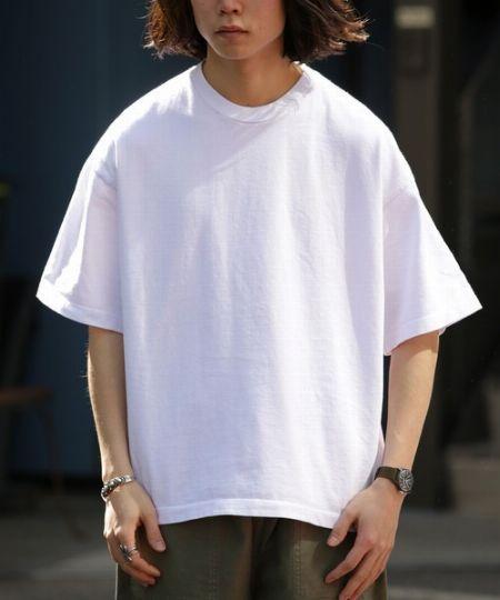 『ロサンゼルスアパレル』ビッグシルエットTシャツ