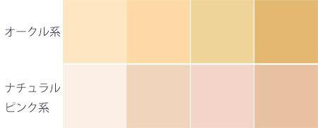 あなたの肌の色はどっち?