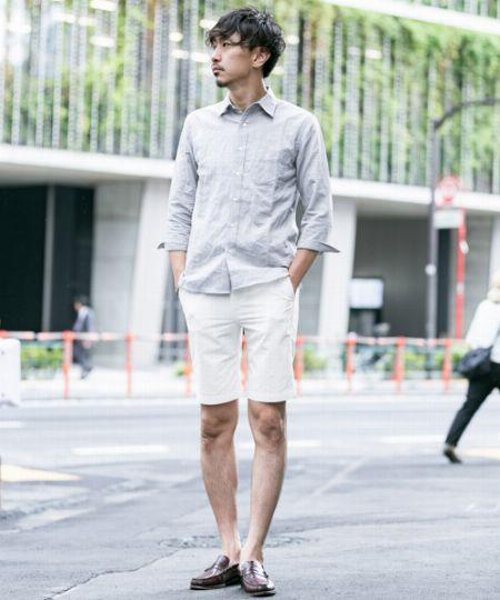 夏といえばショーツ。ショーツといえば、どんな靴?