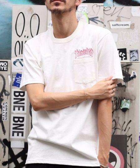 フレイム emb. ポケットS/S Tシャツ