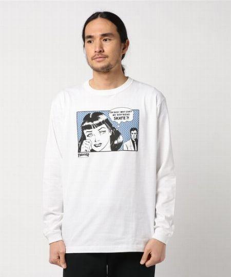ボーイフレンド L/S Tシャツ