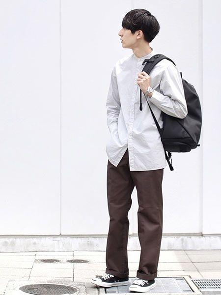 オン・オフ使えるところも魅力的。『エアー』のバッグを取り入れた着こなし好サンプル 4枚目の画像