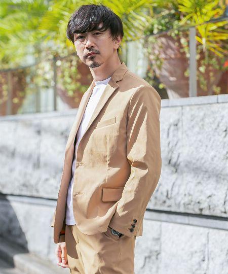 『アーバンリサーチ ロッソメン』丸井織物テーラードジャケット
