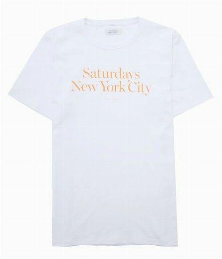 『サタデーズニューヨークシティ』ミラー スタンダード Tシャツ