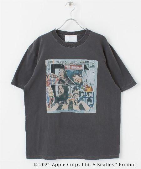 『アーバンリサーチ iD』ビートルズ 1969 カレッジ Tシャツ
