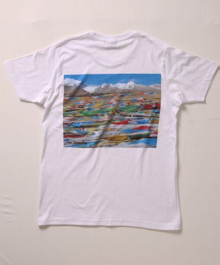 『ファクトタム』コレクションフォトTシャツ CROSS ROAD