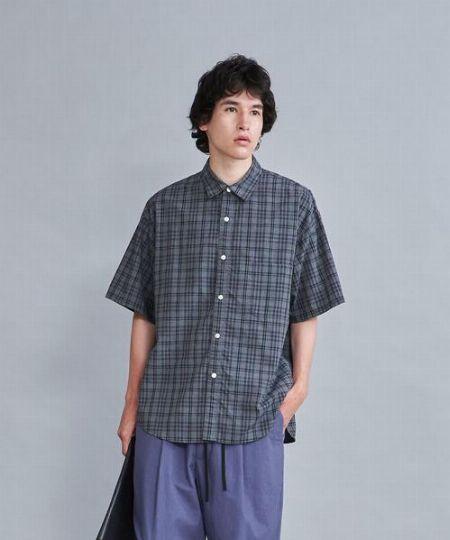 『レインスプーナー』総柄 クラシック 半袖開襟シャツ