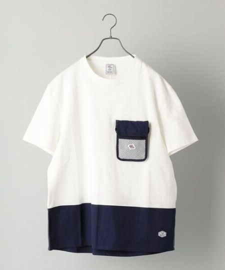 『チャンピオン』×『ビームス』ビッグ フェイク Tシャツ