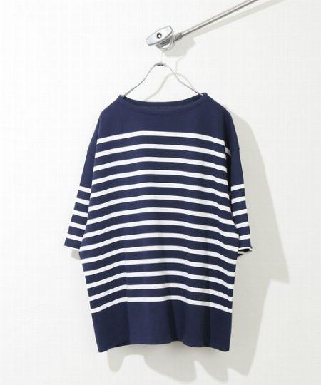 『ラコステ』×『シップス』ドロップテイル ポケット ビッグ Tシャツ