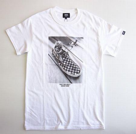 スリッポンフォト S/S Tシャツ