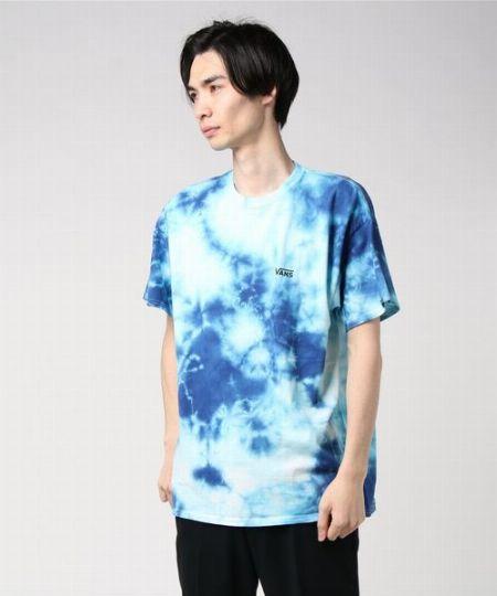 タイダイS/S Tシャツ ブルー