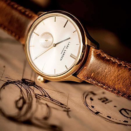 『ラースラーセン』のはじまりは、曾祖父のつくった腕時計