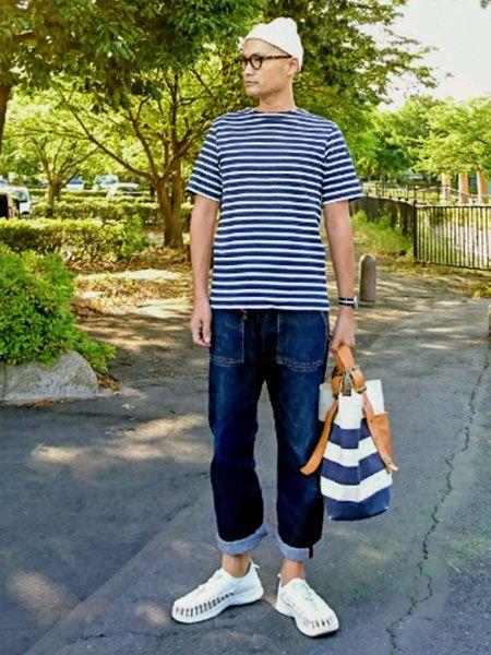 もちろん、履いてもおしゃれです。ユニークのコーデ見本帳 2枚目の画像