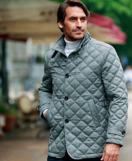 『メンズビギ』キルティングジャケット