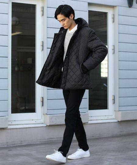 冬のアウター候補にキルティングジャケットを!