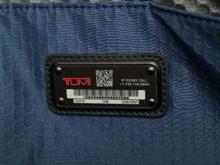 バッグを紛失しても安心な「トゥミ・トレイサー」