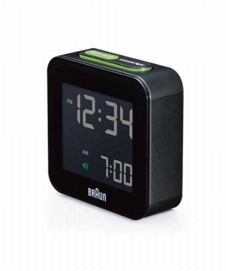 『ブラウン』デジタルクロック BNC008BK-RC