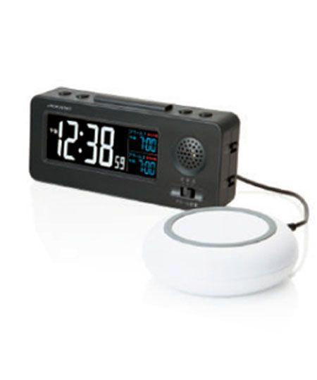 『アデッソ』振動式目覚まし時計 A6470SLSG