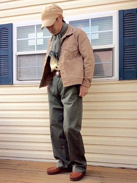 2足目にゲットしたい、ブラウンのワラビーを取り入れたコーディネート 3枚目の画像