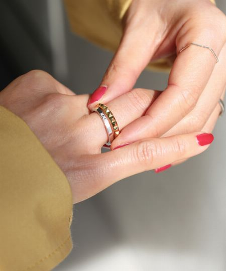 ▼ポイント2:どの指に着けたいか決めてから選ぶ