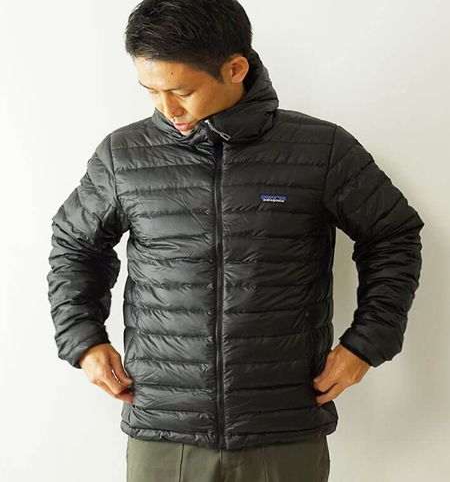 『パタゴニア』のダウン製品は、暖かいうえに軽い着用感