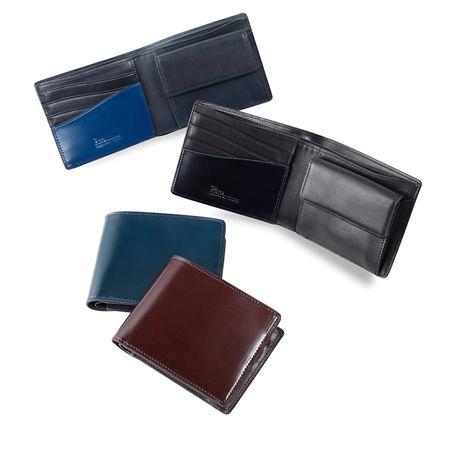 『フィーコ』コードバンヌオーボ 二つ折り財布