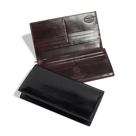 ファスナー付き 長財布