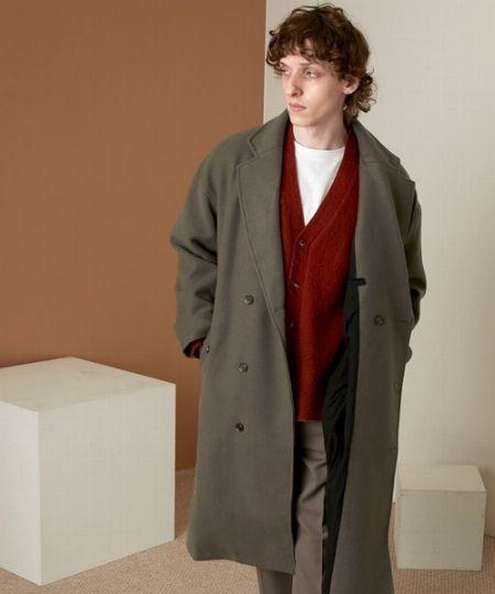 『ビューティ&ユース ユナイテッドアローズ』リバーメルトン バルカラー コート