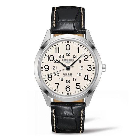 鉄道時計としての機能美が宿る「レイルロード」
