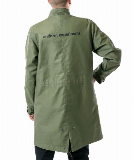 UENミニタリー スタンドカラーコート