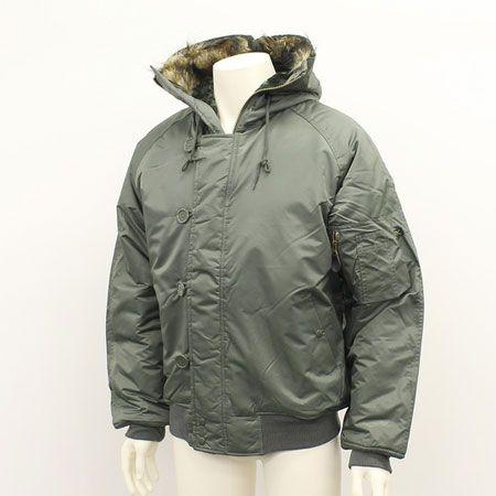 『wjk ブラック』マイクロクロスN-2Bジャケット