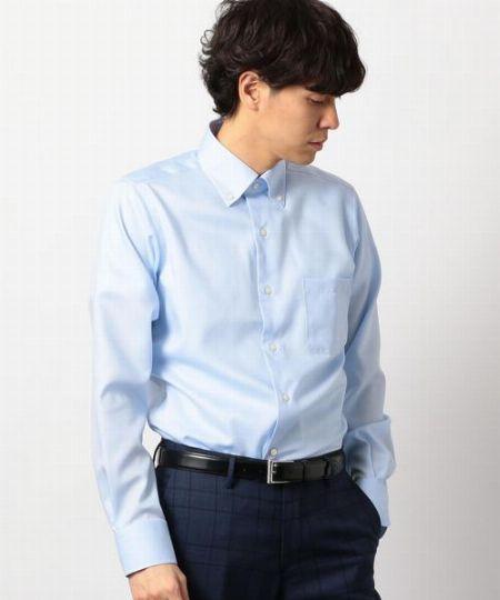 『グリーンレーベル リラクシング』ボタンダウンカラーシャツ