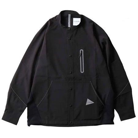 テックロングスリーブ バンドカラーシャツ