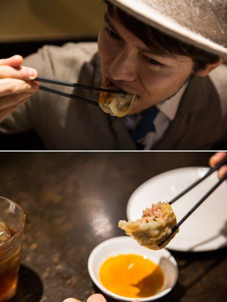 一気に気力が沸くジューシーな餃子&麻婆丼 3枚目の画像