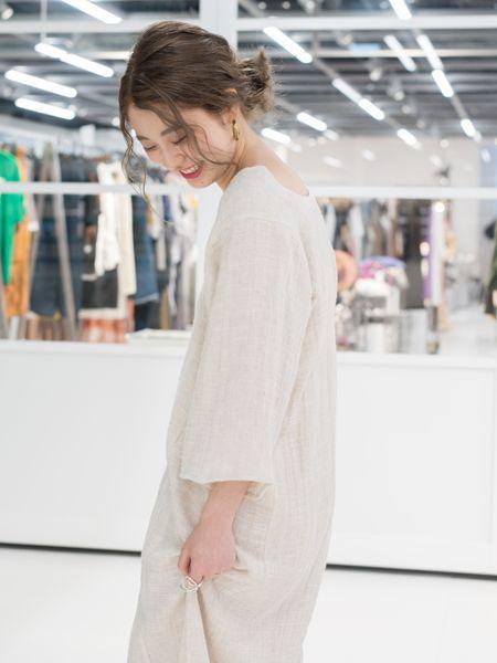 """癒やし系プレスが考える理想のデート服は、""""シンプルでゆったり""""がキーワード"""