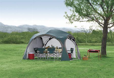 設営が簡単で、キャンプ以外のレジャーにも活躍する「自立式」