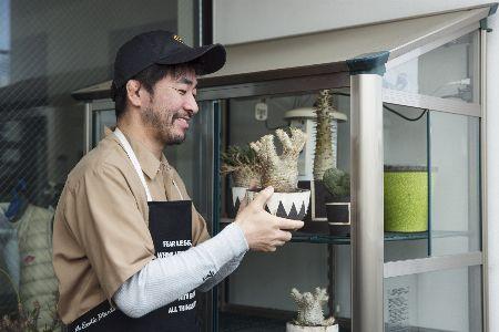 コーデックス(塊根植物)ブームの仕掛け人、横町 健さん