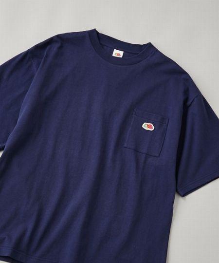 『チャオパニック』別注ポケットワッペン半袖ビッグTシャツ