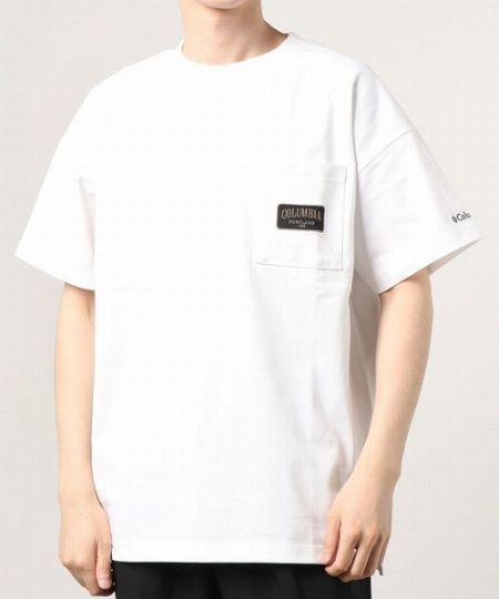 ビッグシルエット ポケット付Tシャツ