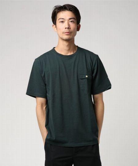 アメリカンコットンポケットTシャツ