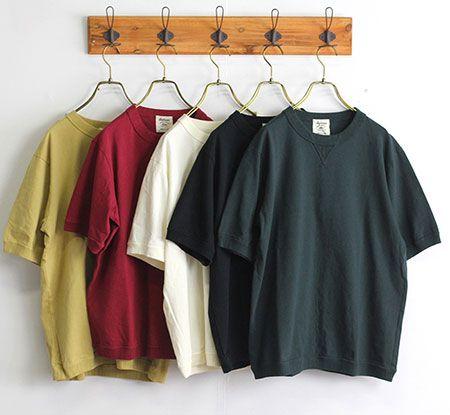 アメリカンコットンリブTシャツ