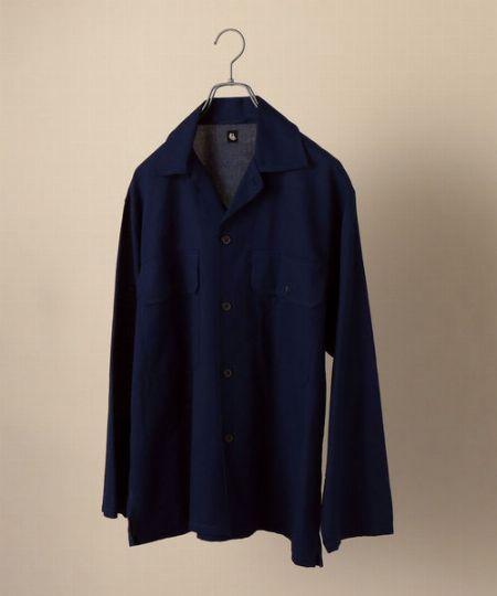 『シップス』別注 サファリ シャツジャケット