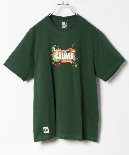 ヘビーウェイト ジッププルポケットTシャツ
