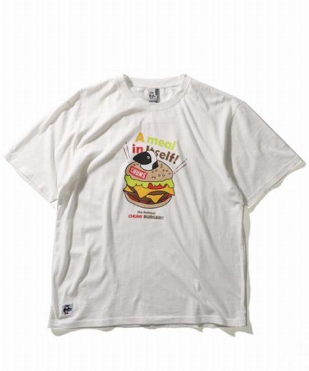 ハンバーガープリントTシャツ