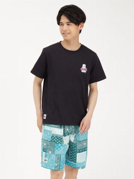 フードトラック バックプリントTシャツ
