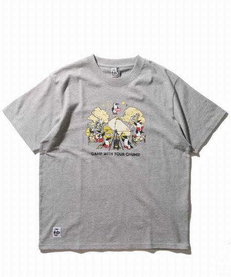 キャンプ『チャムス』Tシャツ