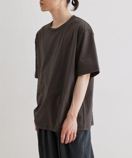 『フルーツオブザルーム』T/Cポンチ リブ付き 半袖スウェットTシャツ