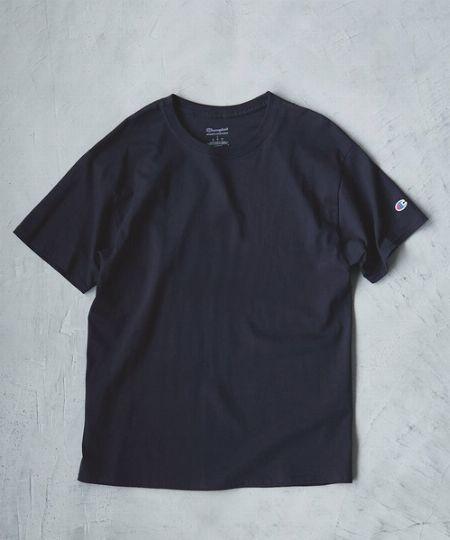 『ナノ・ユニバース』アンチ ソーキッド ヘビークルーネックTシャツ