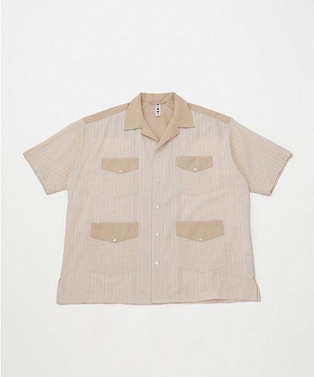 『エクストララージ』S/Sキューバシャツ