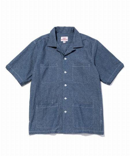 『バテンウェア』5ポケット アイランドシャツ
